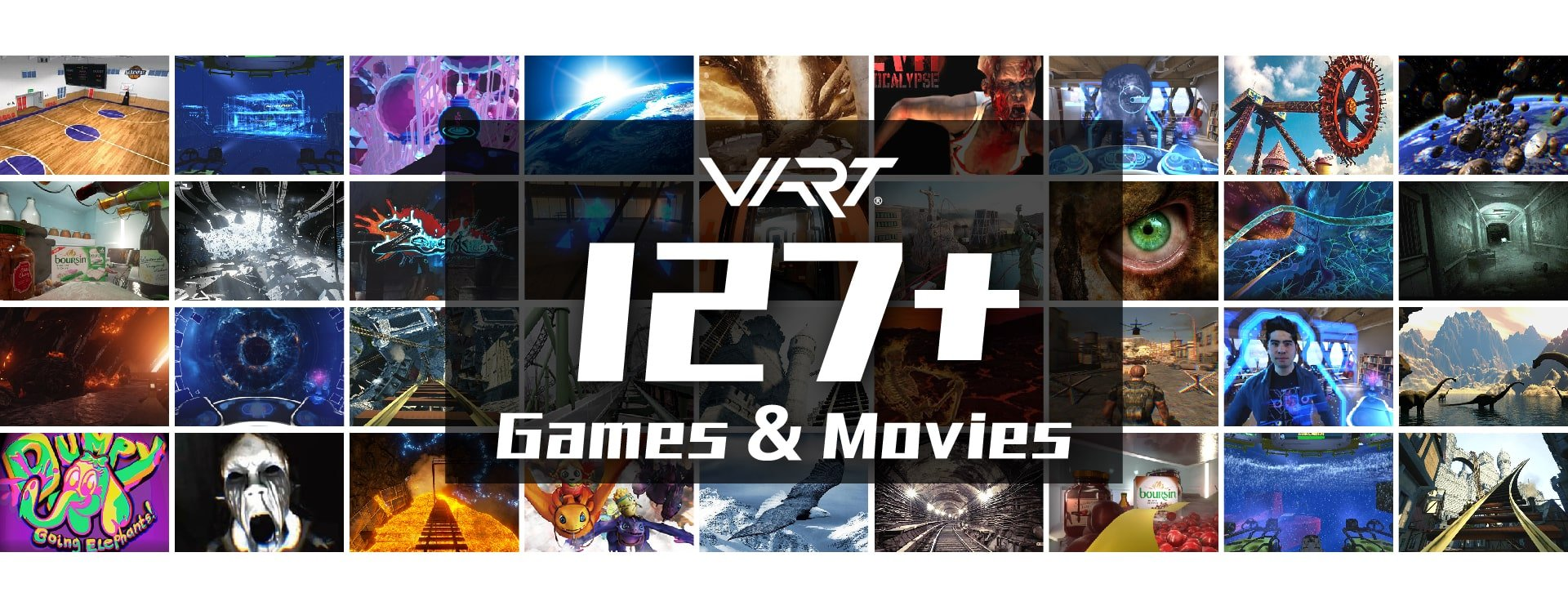 127pcs 9D VR Cinema games and movies