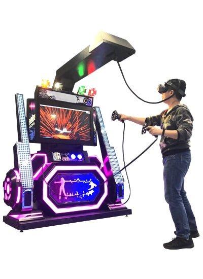 VR Dancing Left