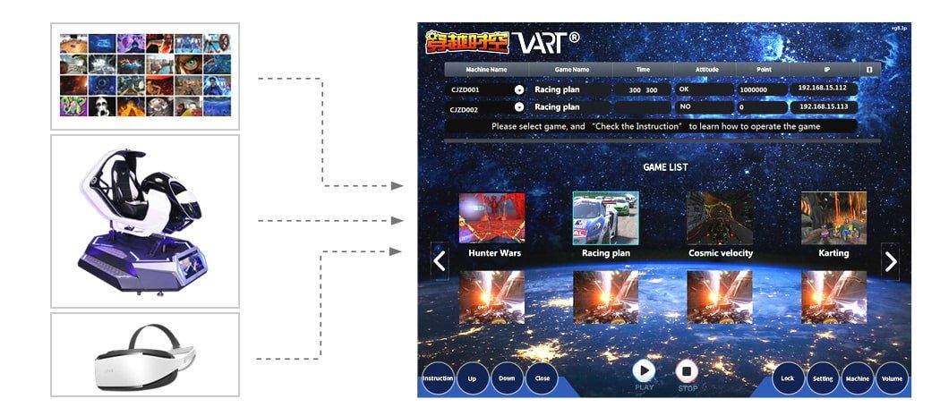 VR Car Racing Game from VART
