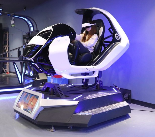 VR Car Racing Machine