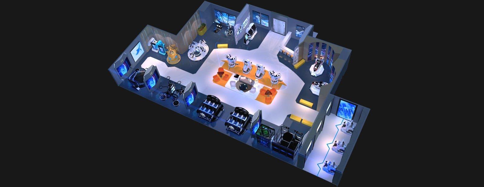 VR Arcade China 500 Square Meter
