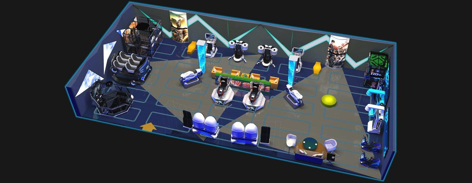 VR Theme Park China 300 Square Meter