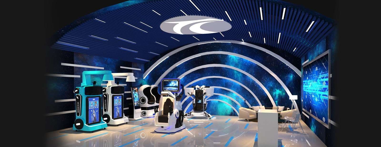 VR theme park China 70 Square Meter