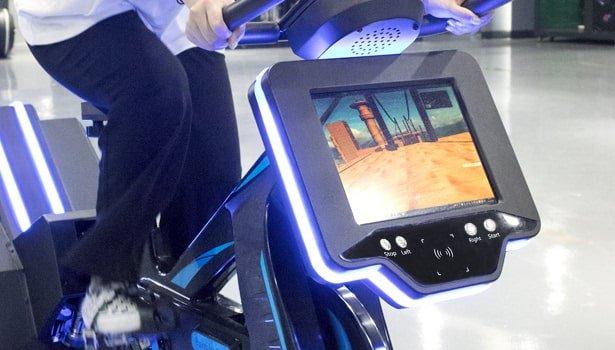 Game Displayer of VR Bike