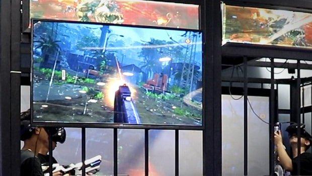 VR shooting games