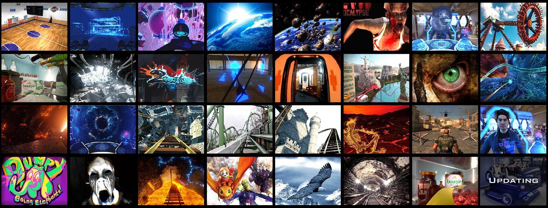 VR Games of 9D VR Cinema