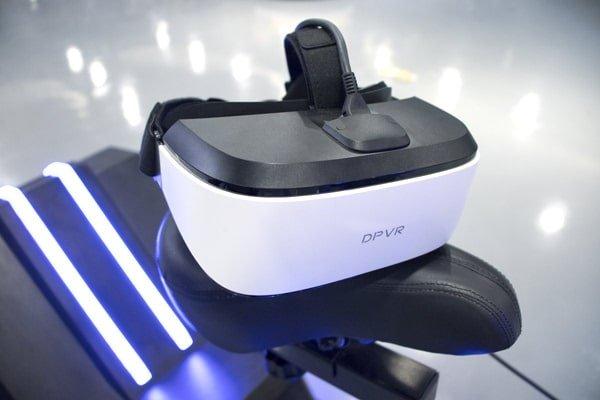 VR Bike with VR Glasses