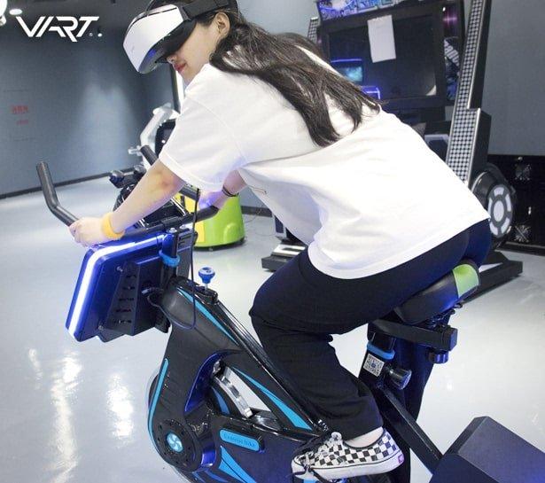 Virtual Reality Bike Game