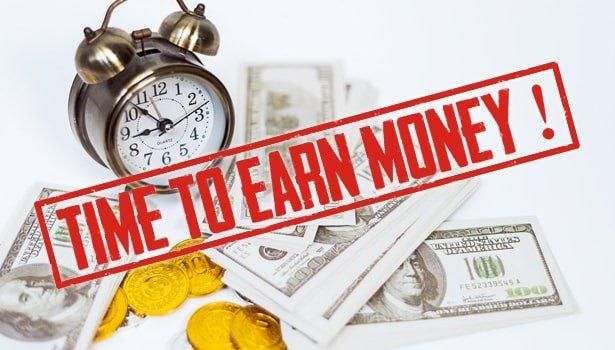 Earn Money VR room