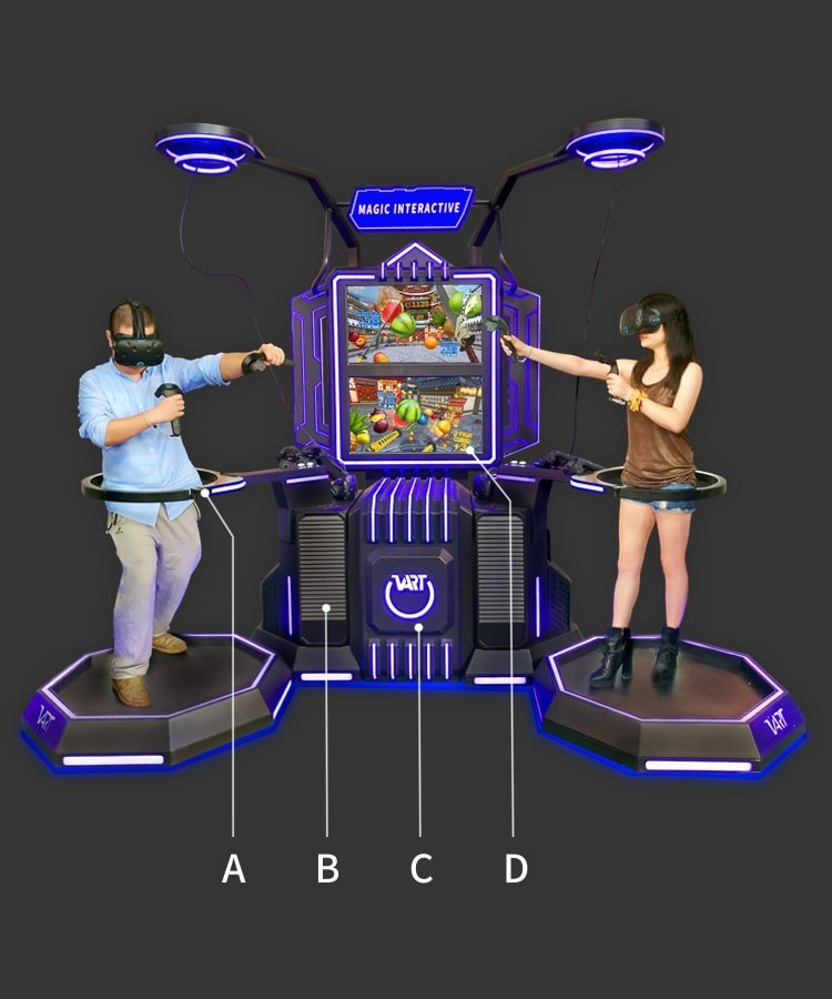 VR space simulator