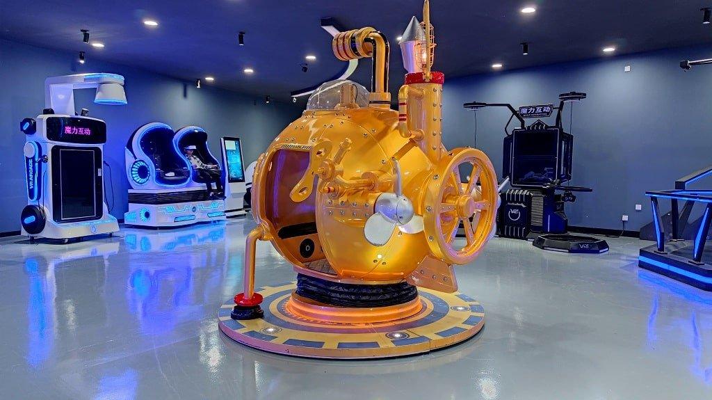 vr submarine