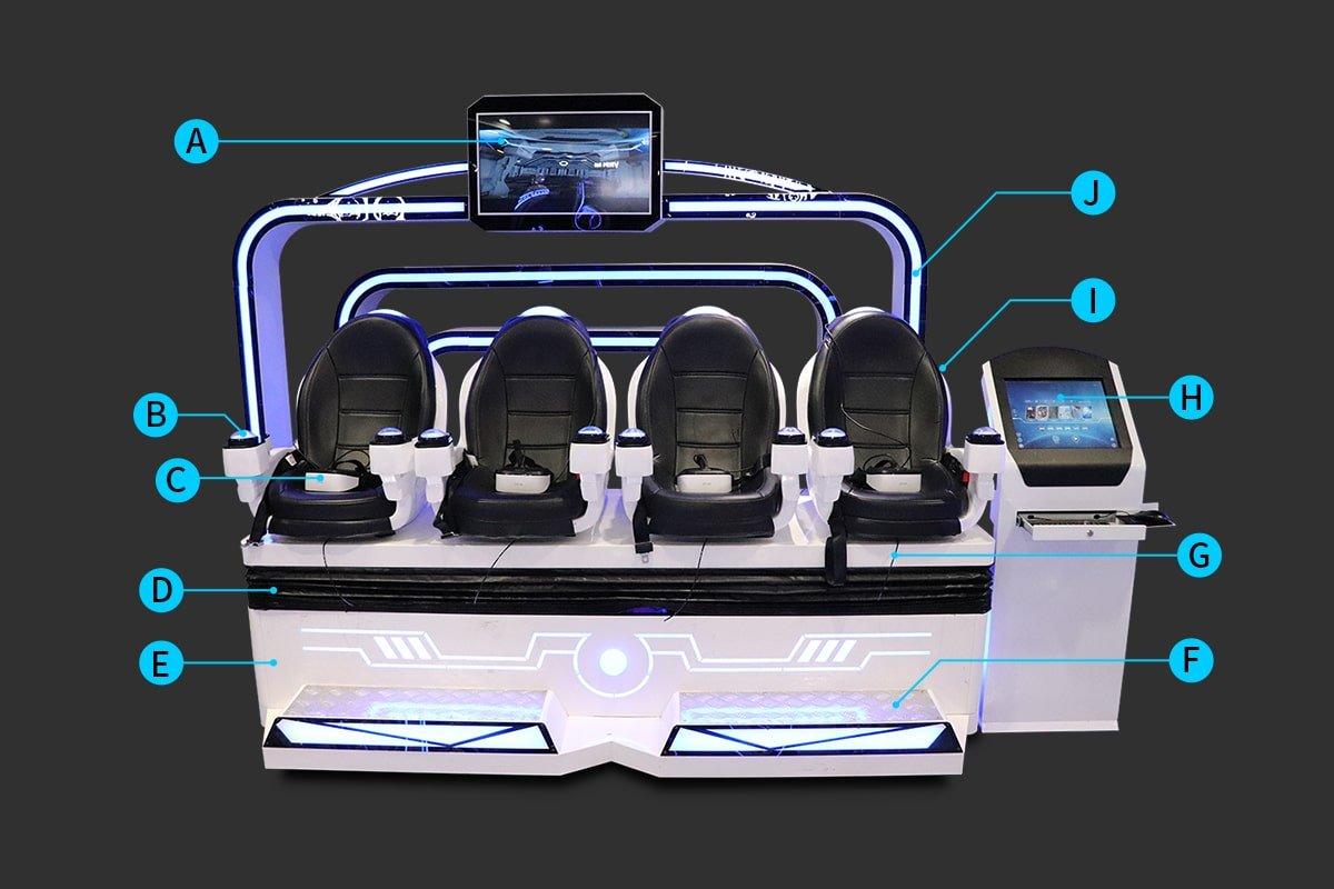 virtual reality chair simulator