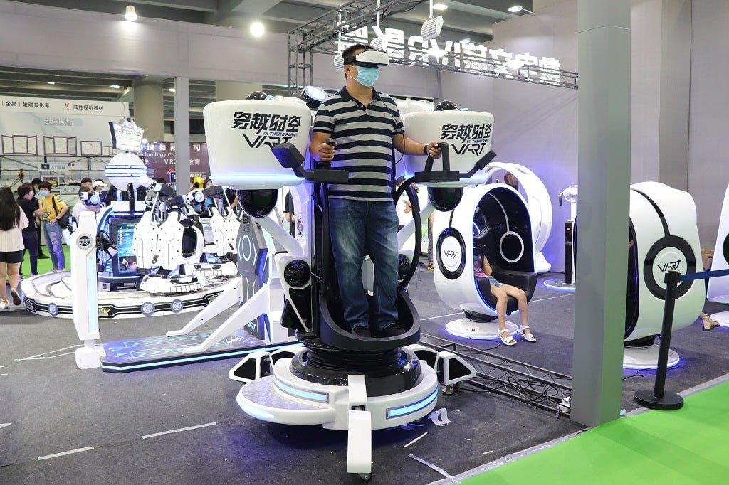 vr flight simulator for sale